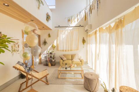松阪市モデルハウス 「 土間リビングのあるナチュラルテイストのお家」