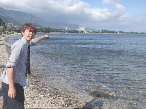 琵琶湖へGO