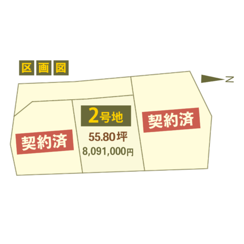 WOODVILLAGE神久3区画